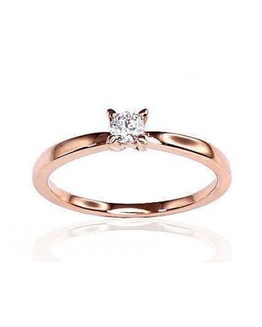 Sužadėtuvių žiedas(AU-R)_DI, Raudonas auksas585, Deimantai 0