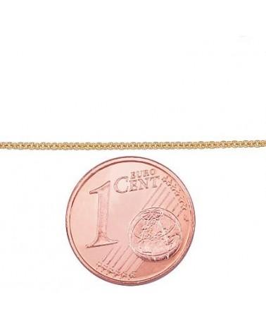 Auksinė grandinėlė(AU-Y) (Grandinėlės nėrimas: Anchor), Geltonas auksas5851